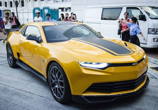 Bumblebee in Transformers 4