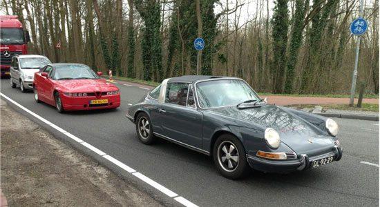 Combospot: Alfa Romeo SZ en Porsche 911E Targa