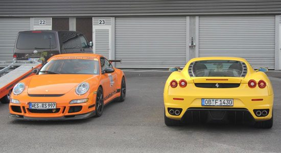 Ferrari F430 of Porsche 911 GT3 RS?