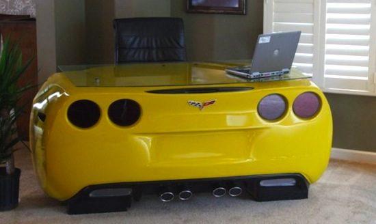 Corvette werkplek