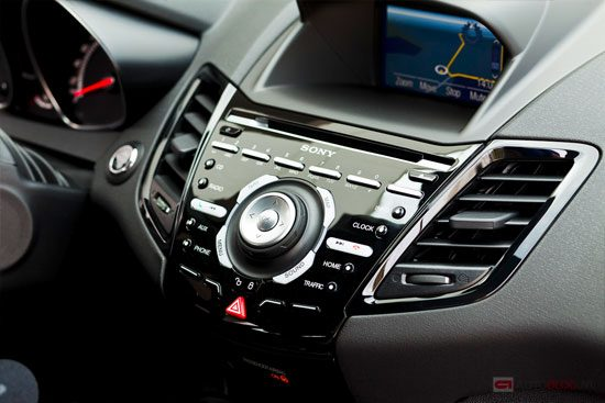 Ford Fiesta: interieur kan beter