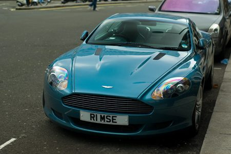 Aston Marin DB9 - Foto Jim Appelmelk