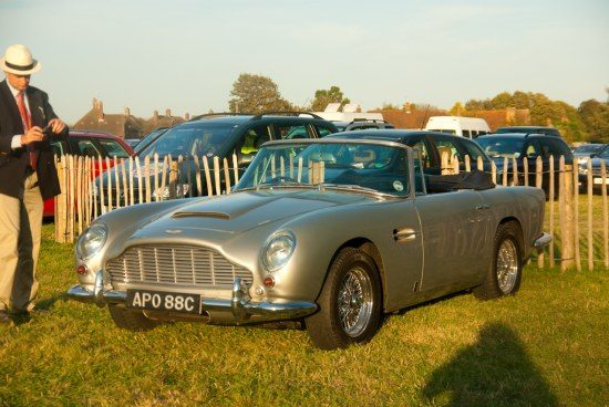 Aston Martin DB5 - Foto: Jim Appelmelk