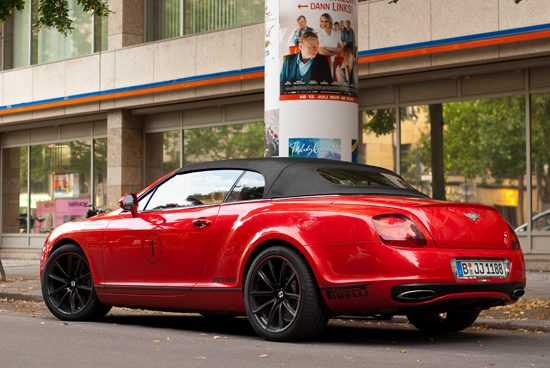 Bentley Continental Supersport convertible - Foto: Jim Appelmelk
