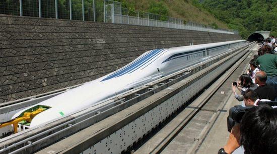 Japanners Stuwen Maglev Trein Door De 500 Km U Barri 232 Re