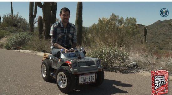 Dit is officieel de kleinste auto ter wereld