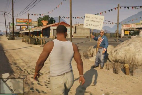 GTA V: So get the hell outta here!