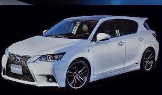 Lexus CT200 facelift