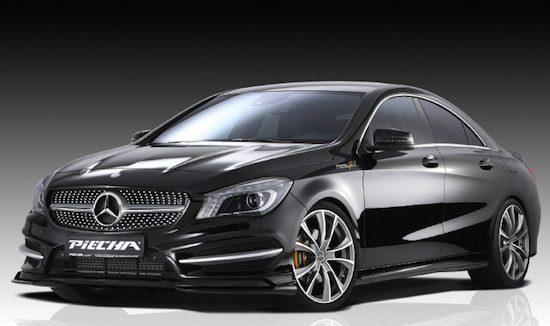 Piecha maakt van de Mercedes CLA een GT-R