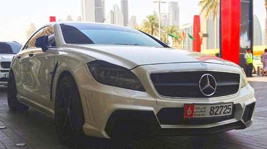 Mercedes CLS Wald Black Bison