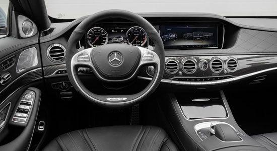 Mercedes s63 amg is helemaal officieel for Interieur s klasse