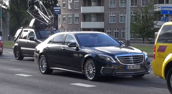Mercedes S65 AMG gespot in Rotterdam