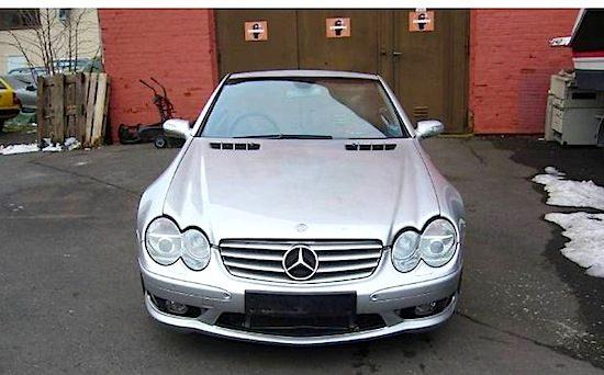 Mercedes SL55 AMG voor slechts €10.500