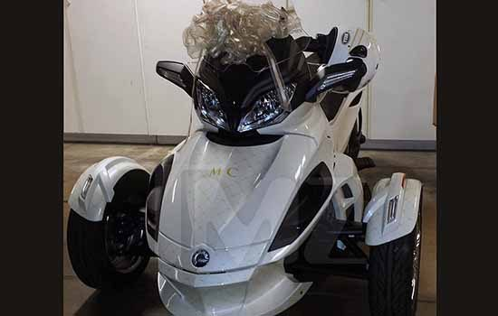 Can Am Spyder van Miley Cyrus