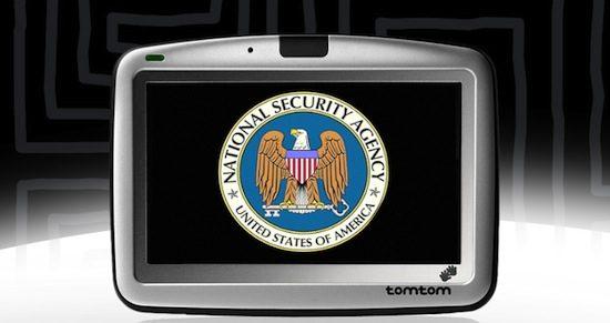 Amerika heeft toegang tot GPS-gegevens TomTom