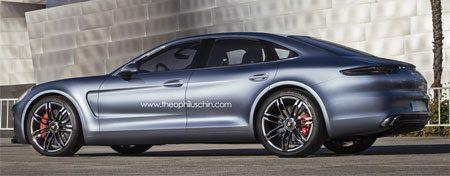 Porsche Panamera 2013 render