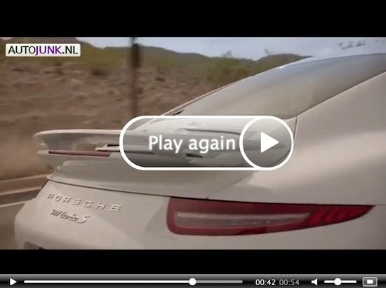 Video: Porsche 911 991 Turbo 2013