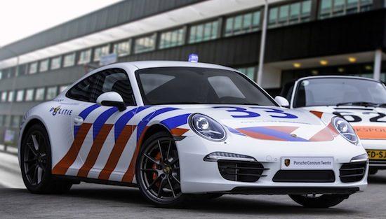 Nederlandse Porsche 911 is politietastisch
