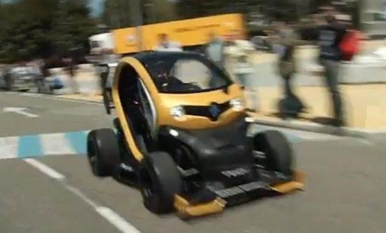 Renault Twizy voor de winst!