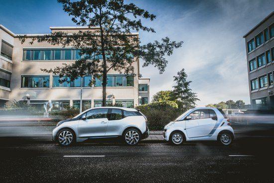 BMW i3 versus Smart