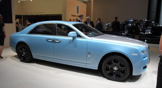 Rolls Royce Ghost Alpine Trial Centenary Collection