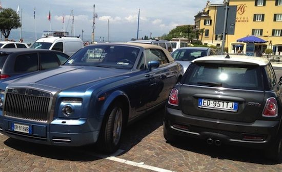 Rolls-Royce vs MINI