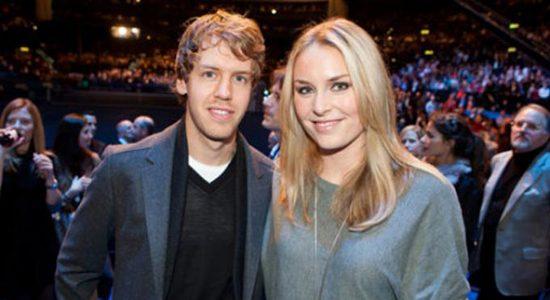 Sebastian Vettel en Hanna Prater