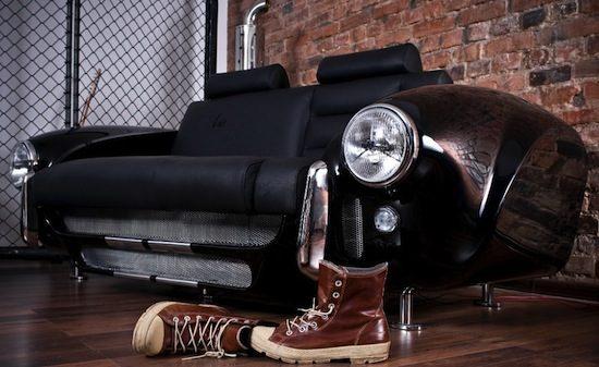 Top 10: Meubels geïnspireerd op auto's & onderdelen