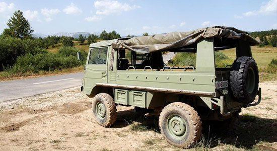 Gespot: Steyr Daimler Puch Pinzgauer