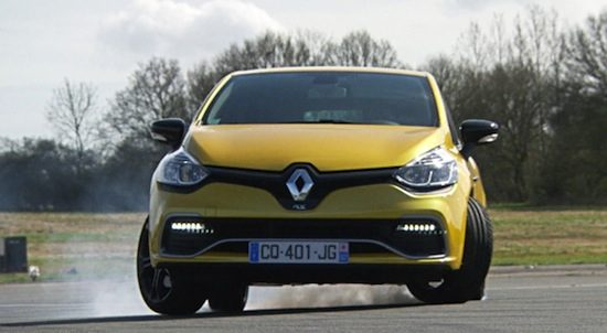 Top Gear doet Renault Clio RS