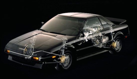 Toyota MR2 tech
