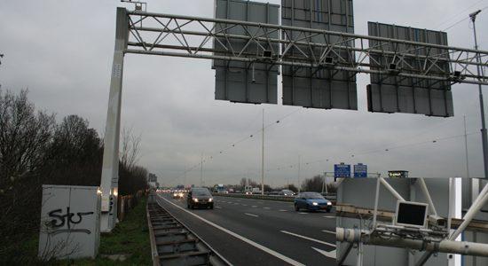 Trajectcontrole bij Utrecht