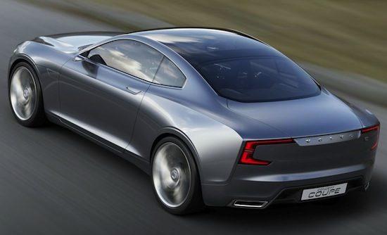 Volvo Concept Coupé: een ode aan de P1800