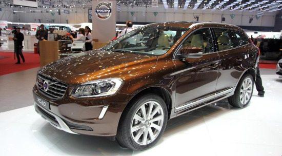 Volvo XC60 bruin