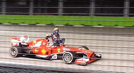 FIA scherpt regels aan na lift Webber bij Alonso