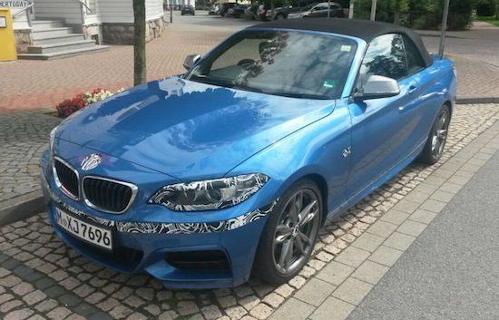 BMW M235i Cabrio, dit wordt hem