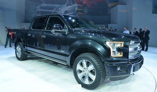 The Big Black F-150