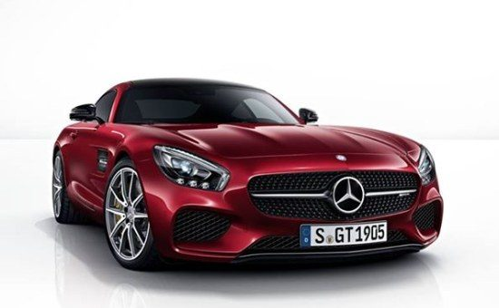 AMG GT rood