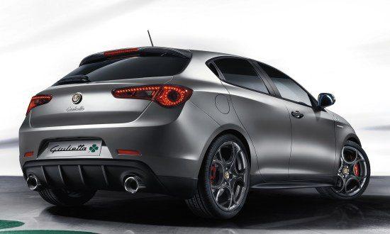 Alfa Romeo Giulietta QV facelift