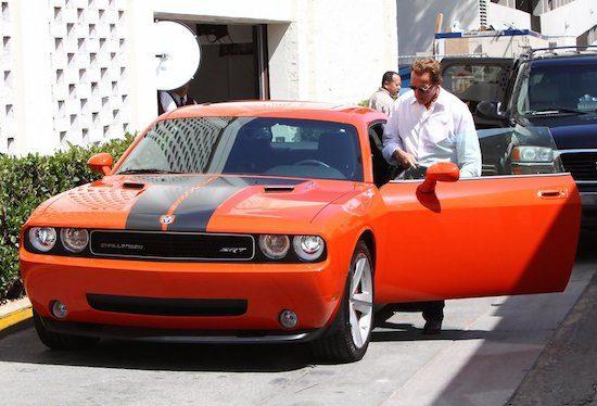 De autoverzameling van Arnold Schwarzenegger