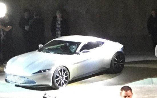 Aston Martin DB 10 - credit: @AndyatAston