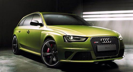 Audi Exclusive RS4 in Peridot Green