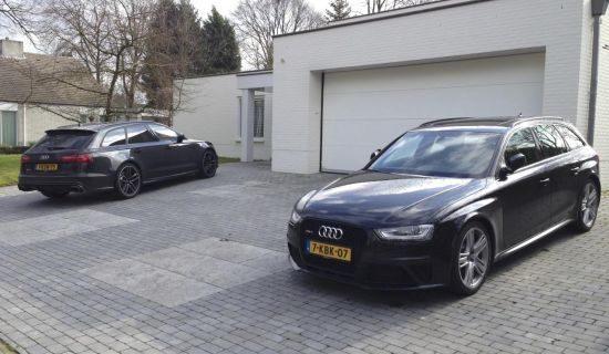 Audi RS4 Avant vs RS6 Avant
