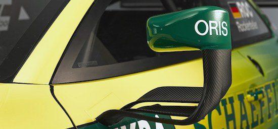 Audi RS5 DTM - de luchtstroomregulerende zijspiegel