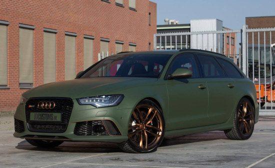 Audi RS6 van DJ Afrowrap