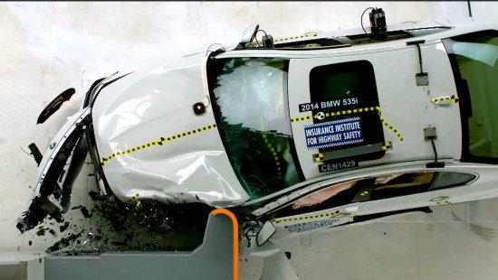 BMW 5 Serie crashtest