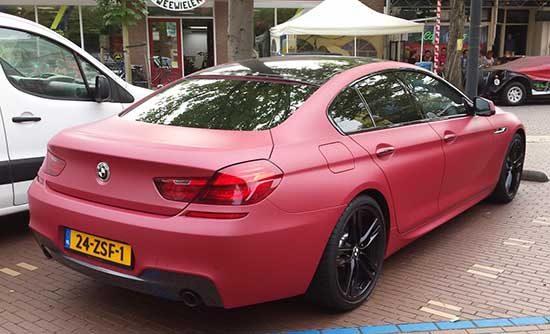 BMW van DJ Dyna