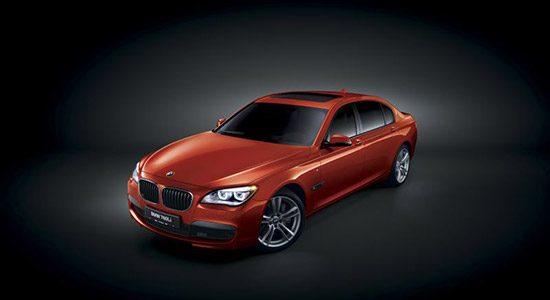 BMW 760li met M-pakket