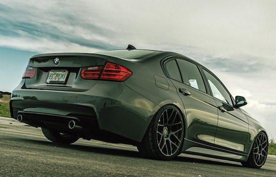 BMW 3 Serie op MORR-velgen