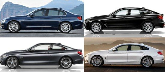 BMW's en profil